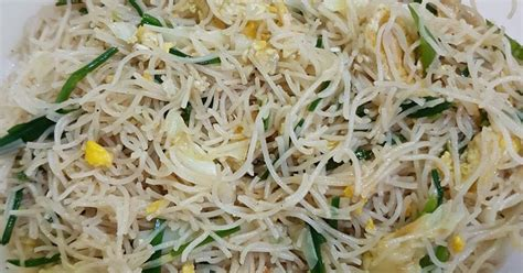 2 buah daun bawang : 12 resep bihun goreng seafood ala chinese food enak dan sederhana - Cookpad