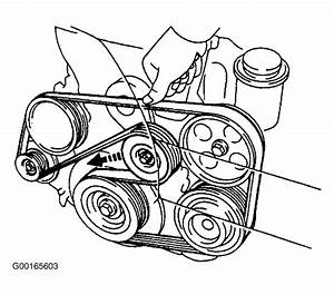 1997 Lexus Gs 300 Serpentine Belt Routing And Timing Belt