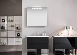Miroir Rangement Salle De Bain : miroir salle de bain lumineux et clairage indirect en 50 id es ~ Teatrodelosmanantiales.com Idées de Décoration