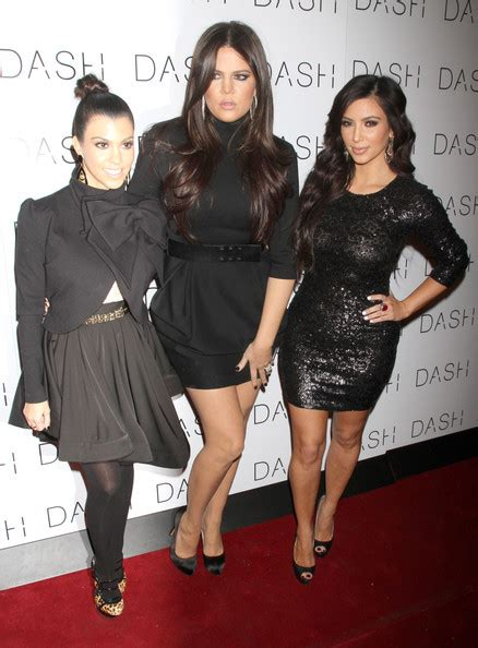 Steal Their Style: Kourt, Kim & Khloe's DASH Launch Outfit ...