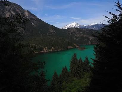 Lake Diablo Amazing Rainbow Natural Trip Wonder