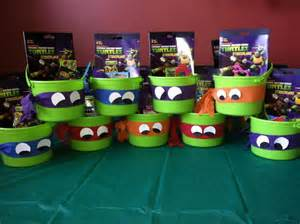 ninja turtle favors party ideas pinterest