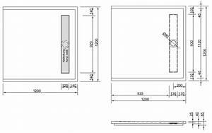 Bodengleiche Duschwanne 120 : bodengleiche duschwanne mit rinnenablauf 120x120 cm ~ Lizthompson.info Haus und Dekorationen