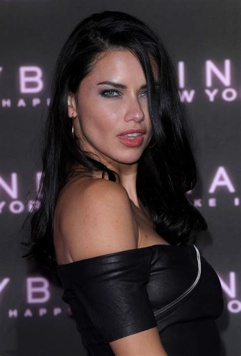 Adriana Lima Maybelline Bring The Night Party For