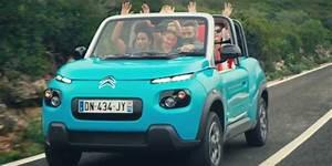 Citroën E Mehari : citroen e mehari goes on sale from 25 000 gets a new promo video autoevolution ~ Medecine-chirurgie-esthetiques.com Avis de Voitures