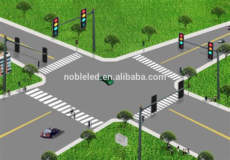 Inductive Loop Detector Solar Intelligent Traffic Signal