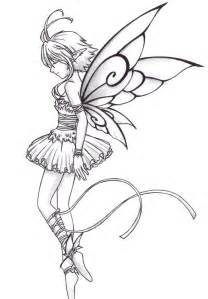 Fairy Ballerina Coloring Pages