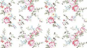 Vintage Print Floral Flower Background Edible A4 ICING ...