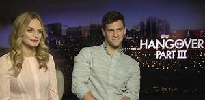 The Hangover 3 Interview - Heather Graham and Justin Bartha