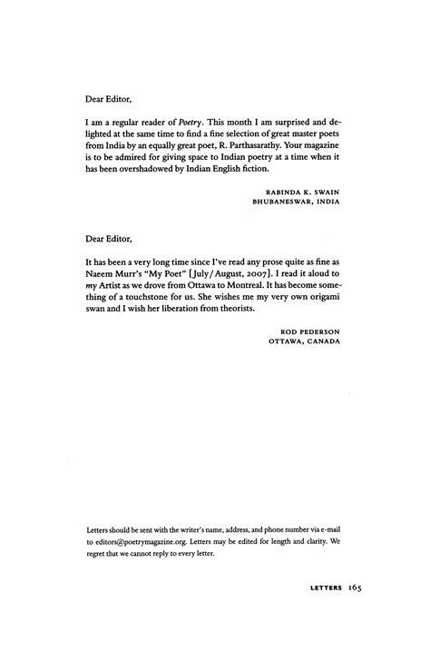letter   editor  rabinda  swain letter
