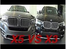 BMW X series 2015, 2016 BMW X5 VS BMW X3 interior