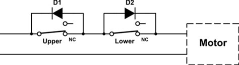 Relay Limit Switch Reversing Motor Electrical