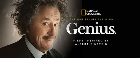 """National Geographic Channel's """"genius"""" Tv Series Is A Must"""