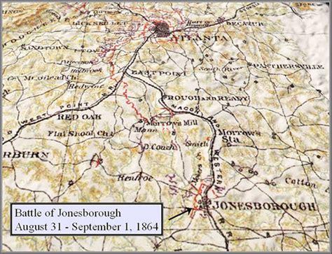 Battle of Jonesboro Map
