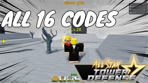 Copy one of the codes from our list, paste it into the box, and then hit enter to receive your reward! All Codes in All Star Tower Defense - YouTube