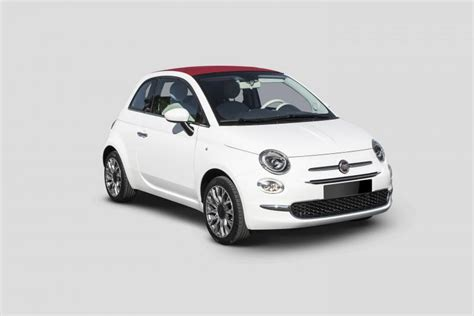 Fiat Car Rental by Car Rental Fiat 500 Lounge Cabrio In Spain Nomadcar