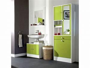 beautiful meuble rangement salle de bain alinea gallery With meuble salle bain alinea