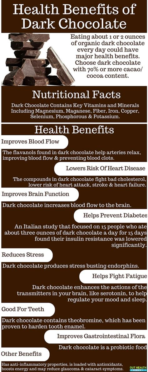 Dark Chocolate: A Probiotic Food With Impressive Health ...