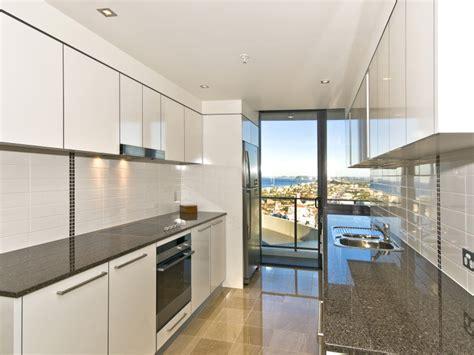 modern galley kitchen ideas modern galley kitchen design using stainless steel 7620