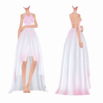 Mmd Deviantart Dresses Outfits Dl Gown Prom