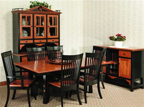 amish kitchen furniture usa made amish furniture fresno leg dining room table