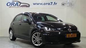 Golf 7 Gtd Noir : volkswagen golf 7 2 0 tdi 184 fap bluemotion technology gtd dsg6 5p occasion lyon neuville sur ~ Medecine-chirurgie-esthetiques.com Avis de Voitures