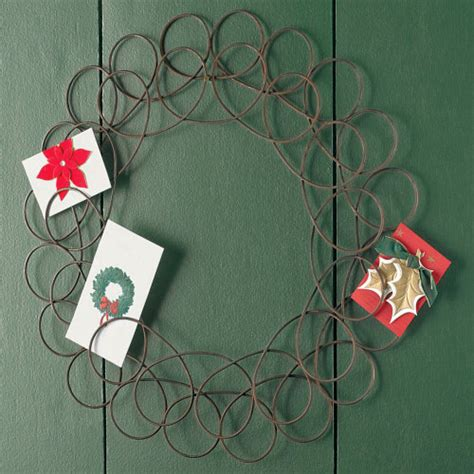 find christmas card holders  display xmas cards