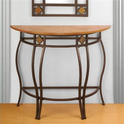 moon console table  tables accent living room furniture hall home decor ebay