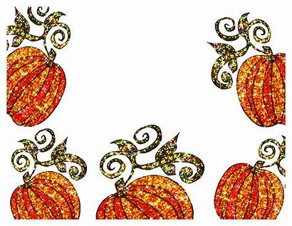Pumpkin Border Patch Clipart Clip Borders Fall