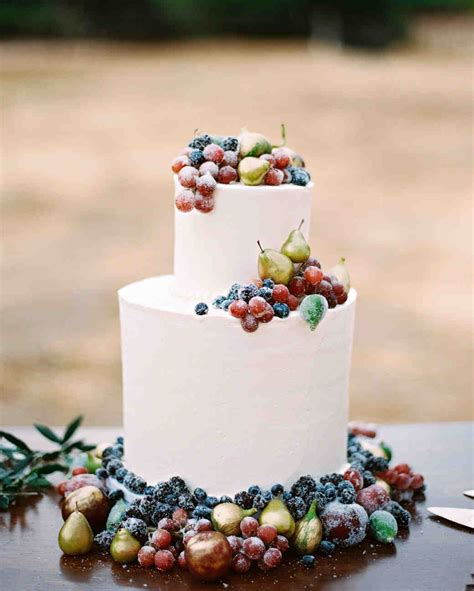 42 Fruit Wedding Cakes That Are Full Of Color And Flavor