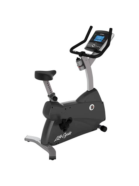 Life Fitness Lifecycle C1 Upright Exercise Bike with Go ...