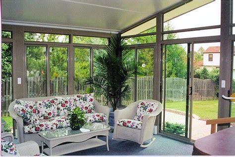 deck  sliding glass doors  sunroom pictures