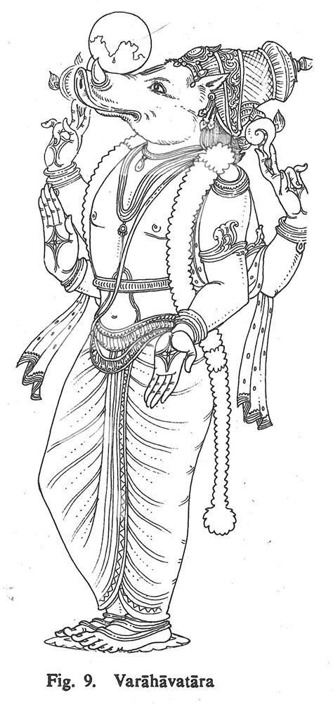 Varahavatara | God art, Hindu art, Ancient drawings