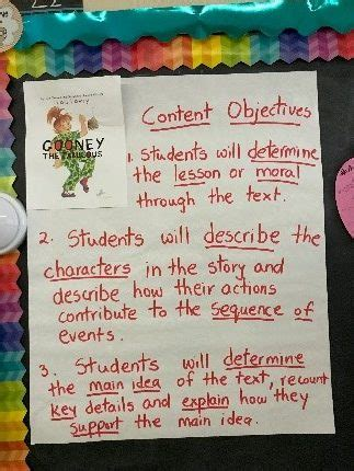 content  language objectives    students