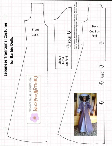 sewing pattern  bible characters doll clothes