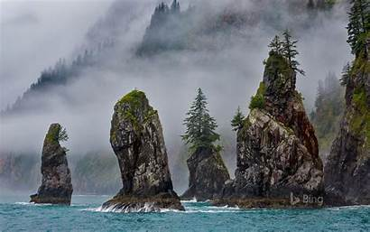 Park Kenai Fjords National Cove Alaska Spires