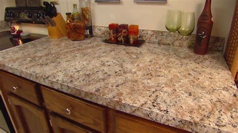 Faux Granite Countertop Prices by How To Apply Faux Granite Kitchen Countertop Paint Diy