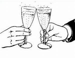 Free Wedding Toast Clipart