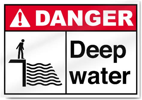 trigger warning template for shows deep water danger signs signstoyou