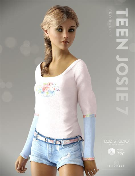 Teen Josie 7 Pro Bundle 3d Models And 3d Software By Daz 3d