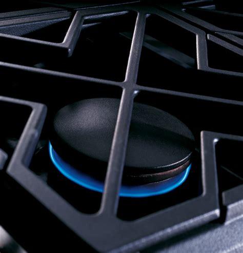 ge monogram  professional gas cooktop   burners natural gas zgunhss ge appliances