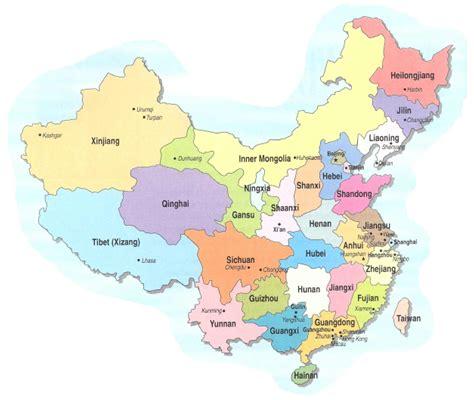 maps  china provinces