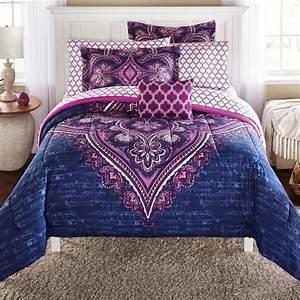 Full, Size, Bed, In, A, Bag, Bedding, Set, Microfiber, Comforter