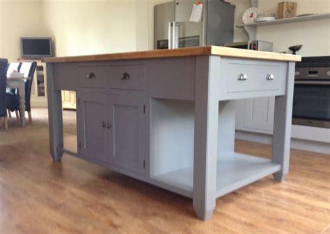 painted  standing kitchen island unit ebay