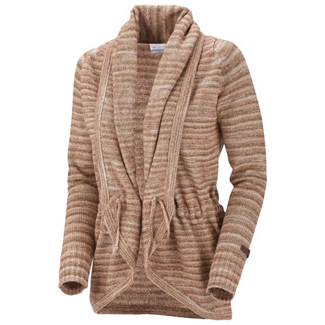 womens sweaters columbia sportswear ombre hombre wrap sweater for