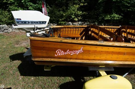 Boat Motor For Sale Peterborough by 1953 Peterborough 15 Power Boat For Sale In Meredith Nh