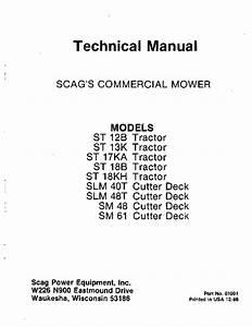 St 18kh Tractor Manuals