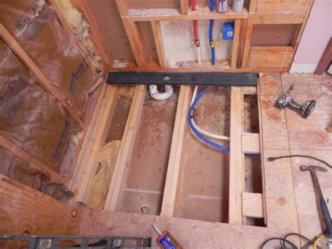 linear drain layout kitchens baths contractor talk