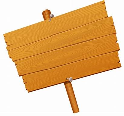 Wooden Signs Sign Pancarte Blank Clip Clipart