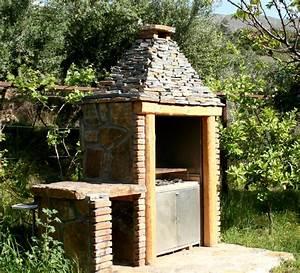 cheminee de barbecue ooreka With cheminee barbecue exterieur en brique